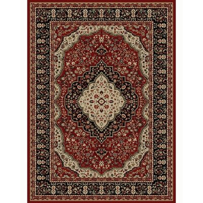 Ankara Kerman Red Rug Rug Size: Rectangle 53 x 73