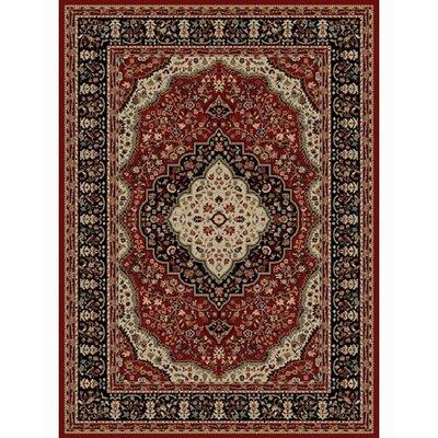 Ankara Kerman Red Rug Rug Size: 710 x 1010