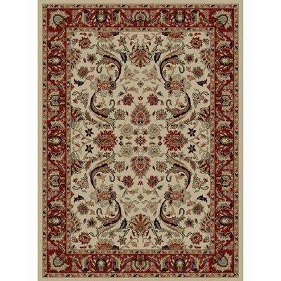 Ankara Sultanabad Ivory Rug Rug Size: 311 x 55