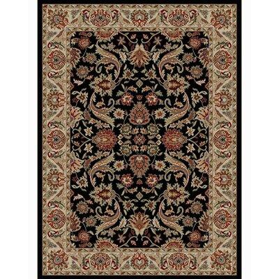 Ankara Sultanabad Black Rug Rug Size: 67 x 96