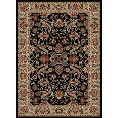 Ankara Sultanabad Black Rug Rug Size: 93 x 126