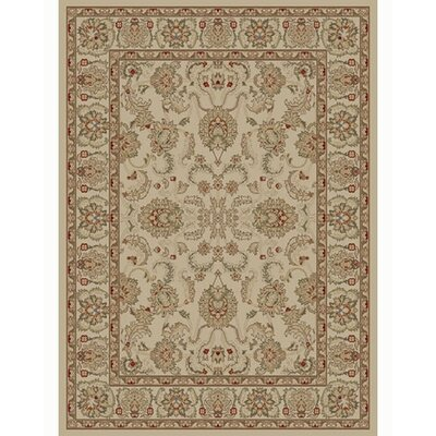 Ankara Oushak Ivory Rug Rug Size: Rectangle 67 x 96
