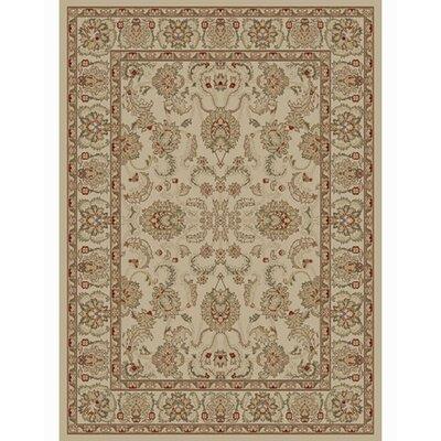 Ankara Oushak Ivory Rug Rug Size: 53 x 73