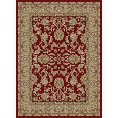 Ankara Oushak Red Rug Rug Size: 67 x 96