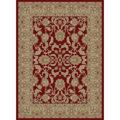 Ankara Oushak Red Rug Rug Size: 93 x 126