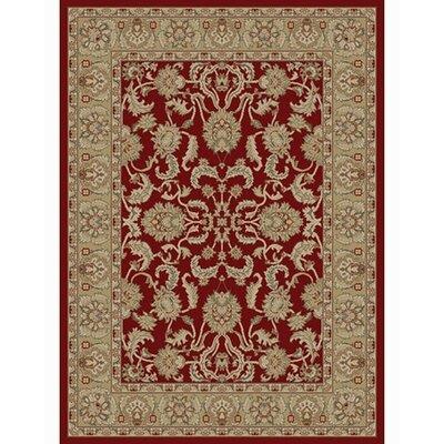 Ankara Oushak Red Rug Rug Size: 53 x 73