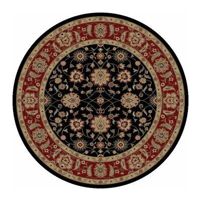 Ankara Zeigler Black Rug Rug Size: Round 710