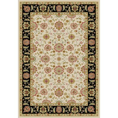 Ankara Zeigler Ivory Rug Rug Size: Rectangle 93 x 126
