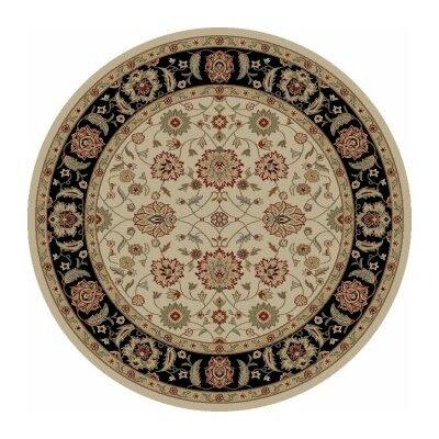 Ankara Zeigler Ivory Rug Rug Size: Round 710