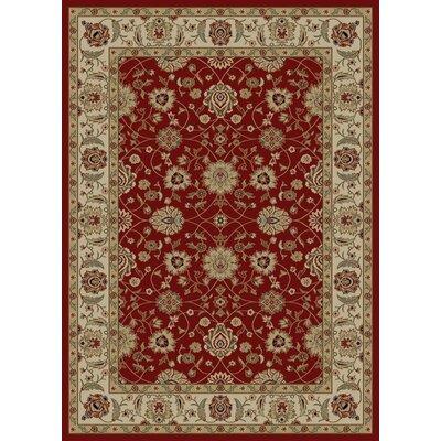 Ankara Zeigler Red Rug Rug Size: 93 x 126