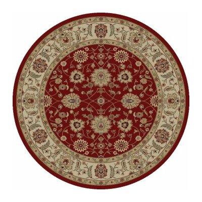 Ankara Zeigler Red Rug Rug Size: Round 710
