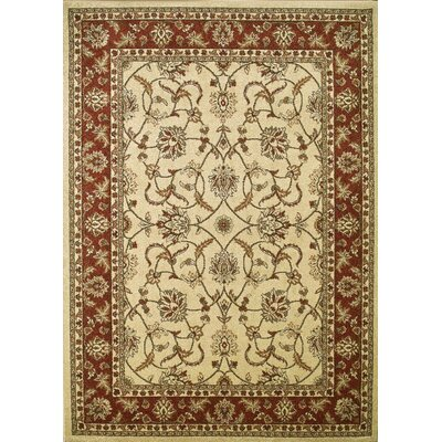 Chester Sultan Ivory Rug Rug Size: 7'10