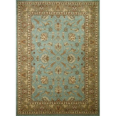 Chester Country Blue Rug Rug Size: Rectangle 53 x 73