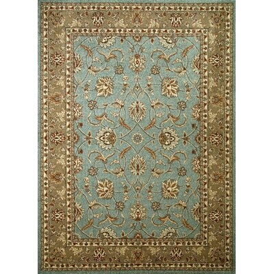 Chester Country Blue Rug Rug Size: 53 x 73