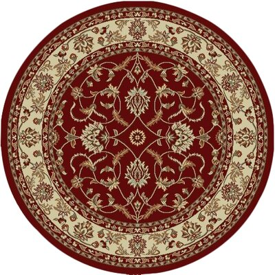 Chester Sultan Red Area Rug Rug Size: 33 x 47