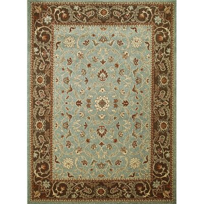 Chester Flora Blue Rug Rug Size: 710 x 106