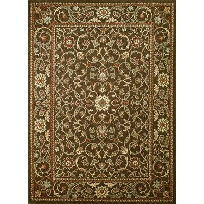 Chester Flora Rug Rug Size: 53 x 73