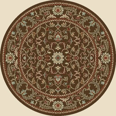 Chester Flora Rug Rug Size: Round 7'10
