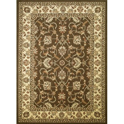 Chester Sultan Brown Rug Rug Size: 53 x 73