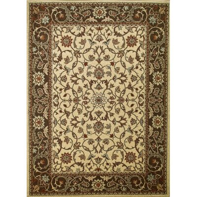 Chester Flora Ivory Rug Rug Size: 67 x 93