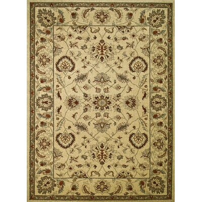 Chester Ivory Oushak Area Rug Rug Size: Rectangle 53 x 73