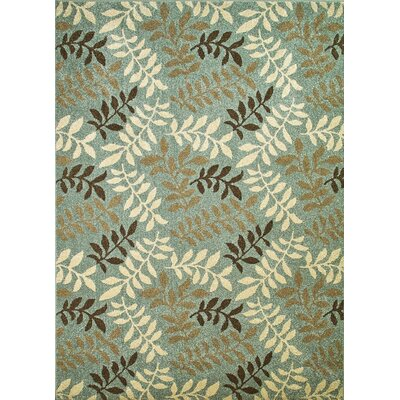 Chester Green Area Rug Rug Size: Rectangle 53 x 73