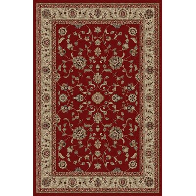 Jewel Marash Red Area Rug Rug Size: 710 x 910