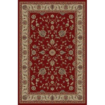 Jewel Marash Red Area Rug Rug Size: 93 x 126