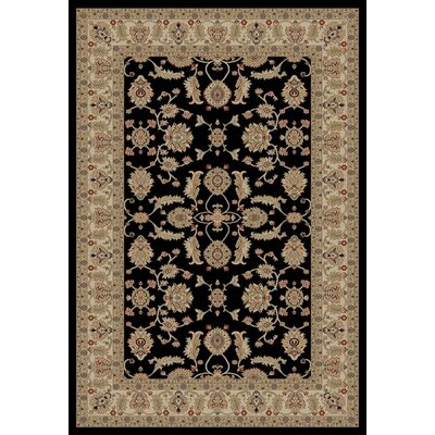 Jewel Antep Black Area Rug Rug Size: 311 x 57