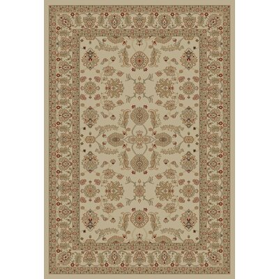 Jewel Antep Ivory Area Rug Rug Size: Rectangle 67 x 93
