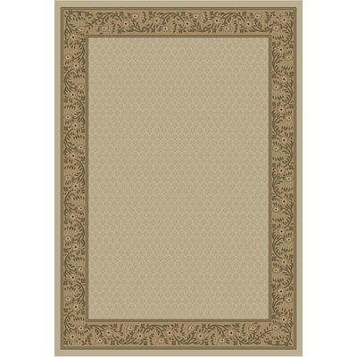 Jewel Harmony Ivory Area Rug Rug Size: Rectangle 53 x 77
