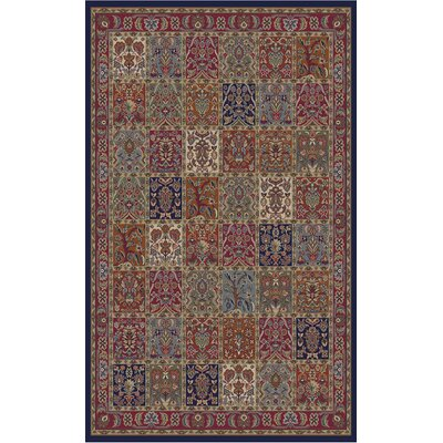 Jewel Panel Area Rug Rug Size: 53 x 77