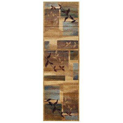 Malcolm Beige Area Rug Rug Size: Runner 23 x 77