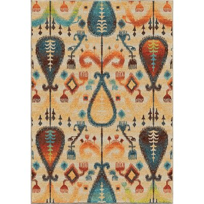 Edgar Beige Area Rug Rug Size: Rectangle 710 x 1010