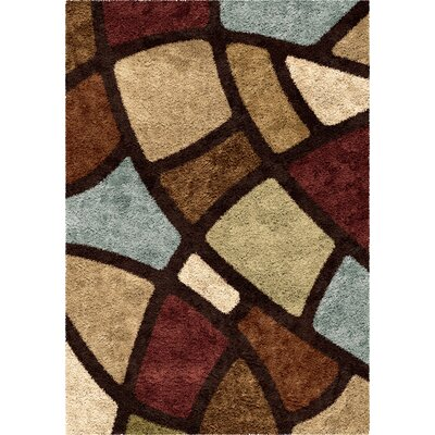 Osgood Brown Area Rug Rug Size: Rectangle 53 x 76