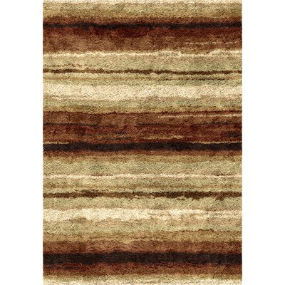 Antonia Red/Beige Area Rug Rug Size: 710 x 1010