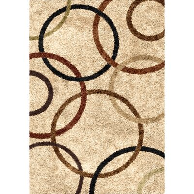 Edwin Beige Area Rug Rug Size: Rectangle 710 x 1010