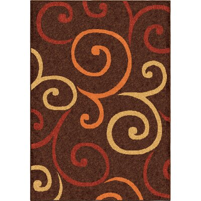 Sasha Brown Area Rug Rug Size: Rectangle 78 x 1010
