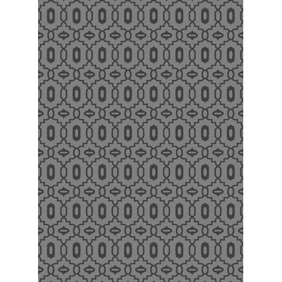 Durham Light Gray Area Rug Rug Size: 53 x 73