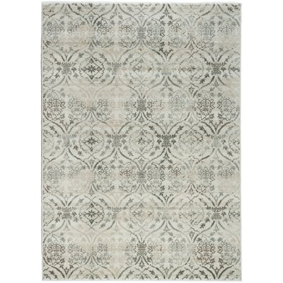 Beige Area Rug Rug Size: Rectangle 53 x 73