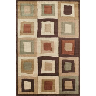 Allston Equinox Ivory/Natural Area Rug Rug Size: Rectangle 53 x 710