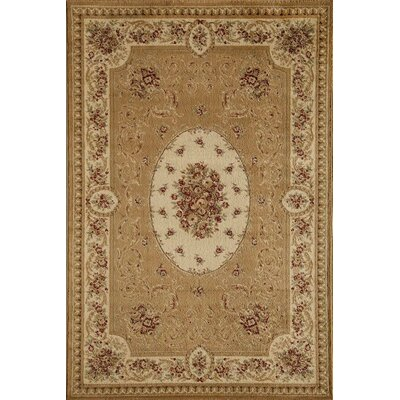 Berghoff Cream Area Rug Rug Size: Rectangle 53 x 710