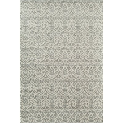 Grady Gray/Ivory Area Rug Rug Size: Rectangle 7'10