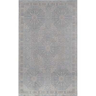 Carter Blue/Gray Area Rug Rug Size: 2 x 3
