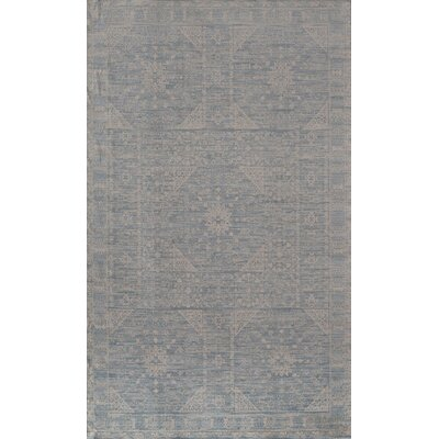 Carter Blue Area Rug Rug Size: Runner 2'3