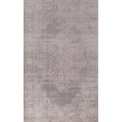 Carter Gray Area Rug Rug Size: Runner 23 x 8