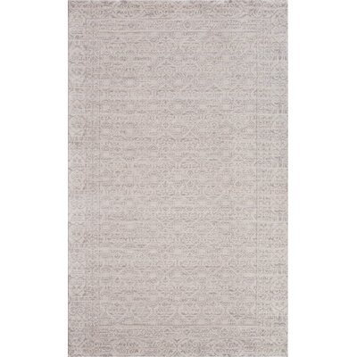 Carter Ivory/Gray Area Rug Rug Size: 2 x 3