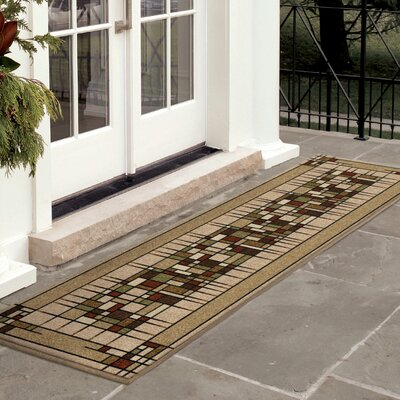 Four Seasons Eldridge Indoor/Outdoor Area Rug Rug Size: 52 x 76