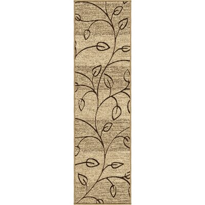 Unionville Gold Indoor/Outdoor Area Rug Rug Size: Runner 23 x 8