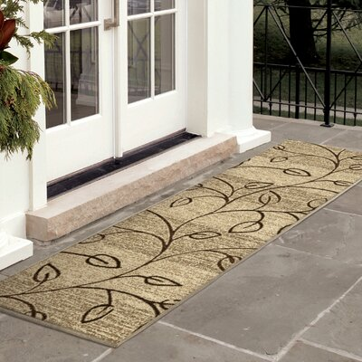 Unionville Gold Indoor/Outdoor Area Rug Rug Size: Rectangle 52 x 76